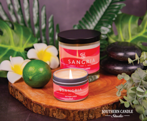 Sangria Soy Wax Candle 11 oz. - Southern Candle Studio