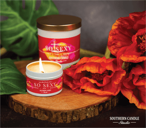 So Sexy Soy Wax Candle 11 oz. - Southern Candle Studio