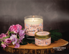 Load image into Gallery viewer, Sweet Pea Soy Wax Candle 4 oz. - Southern Candle Studio