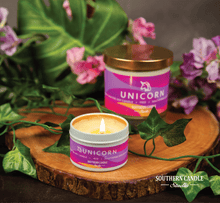 Load image into Gallery viewer, Unicorn Soy Wax Candle 11 oz. - Southern Candle Studio