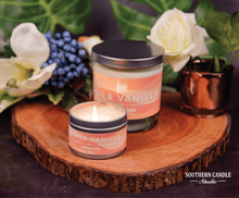 Load image into Gallery viewer, Voila Vanilla Soy Wax Candle 11 oz. - Southern Candle Studio