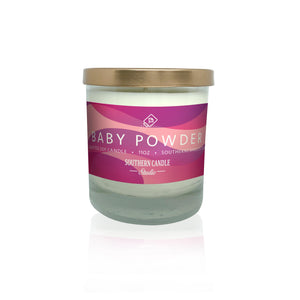 Baby Powder Soy Wax Candle 11 oz. - Southern Candle Studio
