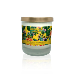 Cactus Flowers Soy Wax Candle 11 oz. - Southern Candle Studio