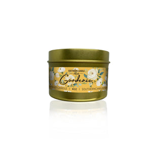Gardenia Soy Wax Candle 4 oz. - Southern Candle Studio