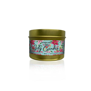 Lily Garden Soy Wax Candle 4 oz. - Southern Candle Studio
