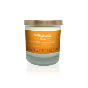 Orange Blossom Soy Wax Candle 11 oz. - Southern Candle Studio
