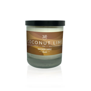Coconut Lime Soy Wax Candle 11 oz. - Southern Candle Studio