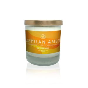 Egyptian Amber Soy Wax Candle 11 oz. - Southern Candle Studio