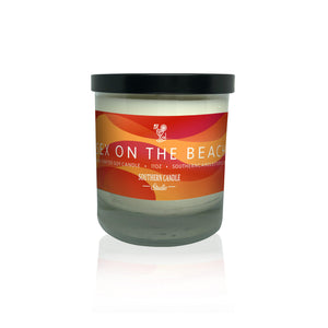 Sex On The Beach Soy Wax Candle 11 oz. - Southern Candle Studio