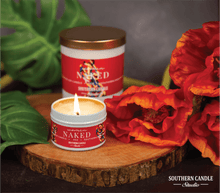 Load image into Gallery viewer, Naked Soy Wax Candle 4 oz. - Southern Candle Studio