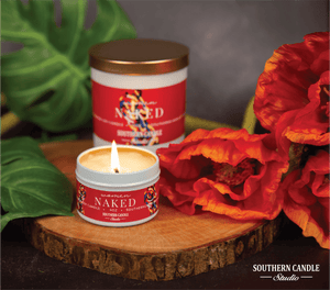 Naked Soy Wax Candle 4 oz. - Southern Candle Studio
