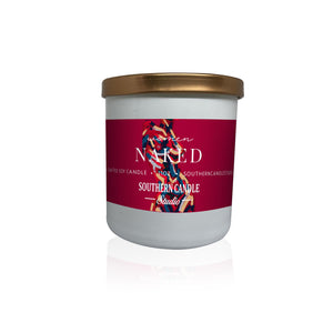 Naked Soy Wax Candle 11 oz. - Southern Candle Studio