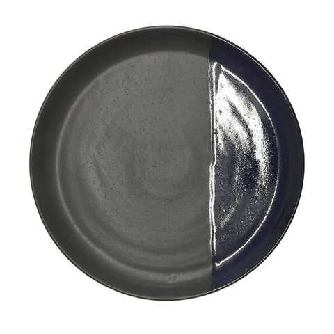 large plate - matt black/ink