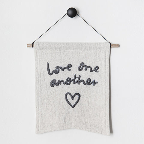 'love one another' bianca cash flag