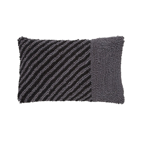 block stripe charcoal