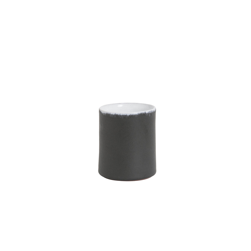 ceramic cup - matt black