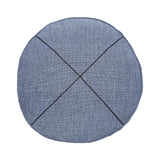 denim khadi round