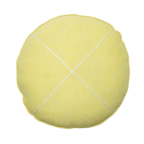 yellow khadi round