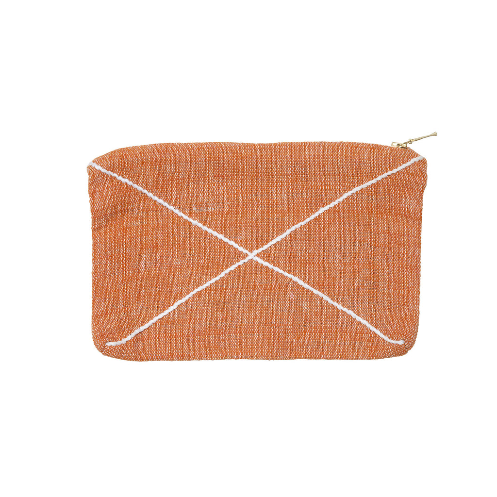 X zip purse tangerine