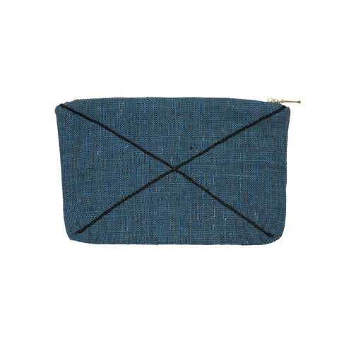 X zip purse teal