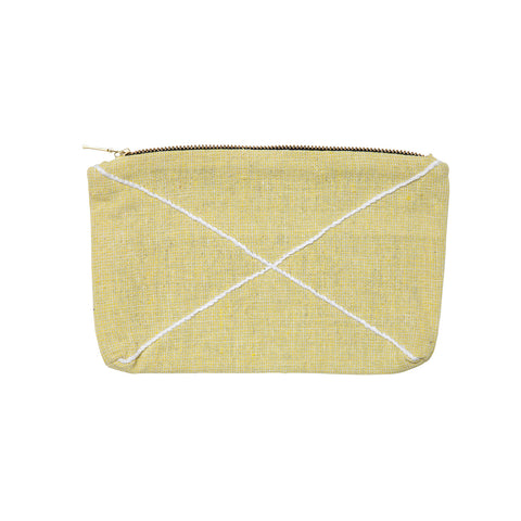 X zip purse yellow