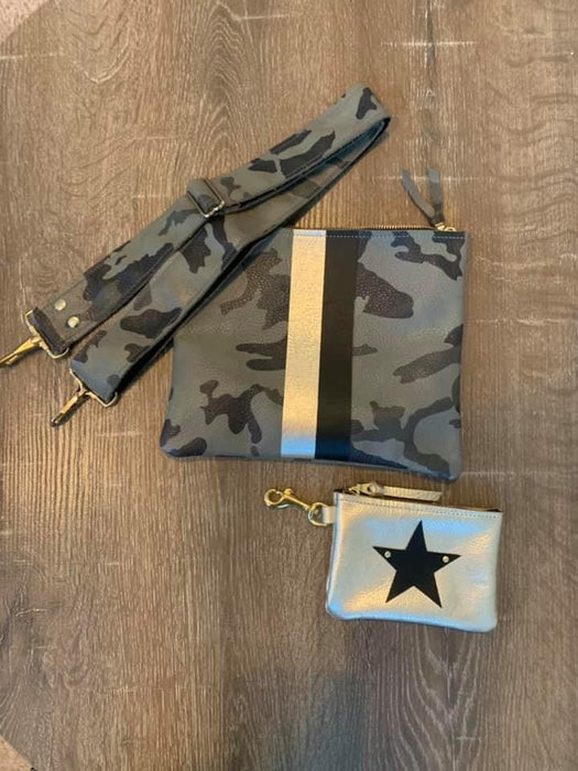 Mila Crossbody Bag - Military Camo