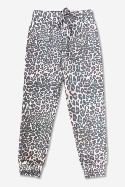 Cozy Sweatpant - Blush Leopard