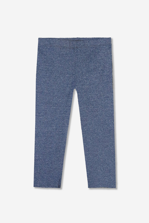Cropped Legging - Solid - Denim