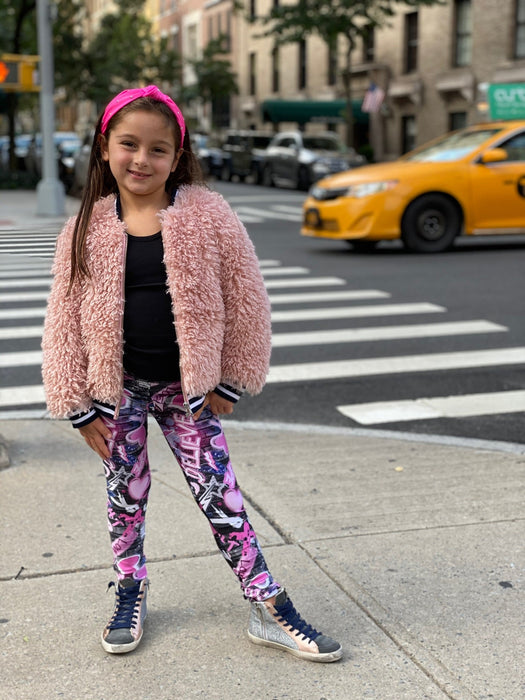 Long Legging - Printed - Pixie Goes Pink