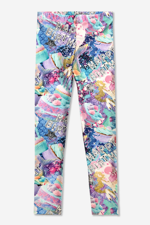 Long Legging - Printed - Mermaid Birthday