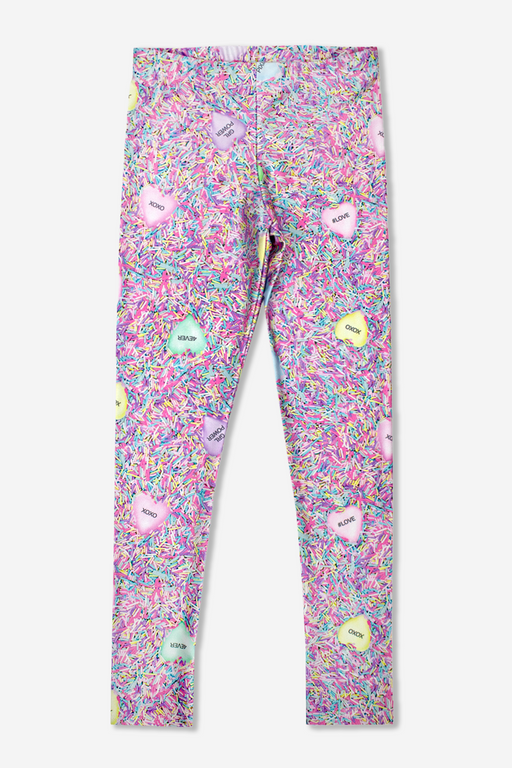Long Legging - Printed - Sprinkle Hearts