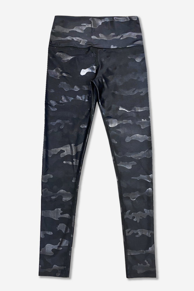 Women's Long Legging - Specialty - Black Camo