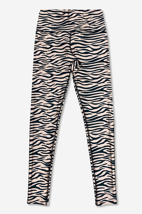Women's Long Legging - Taupe Tiger