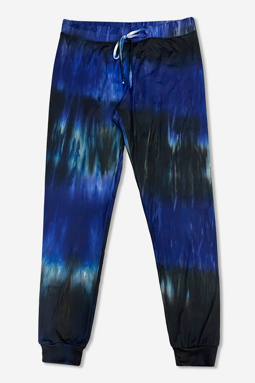 Women's Lounge Pant - Navy Ink Tie Dye