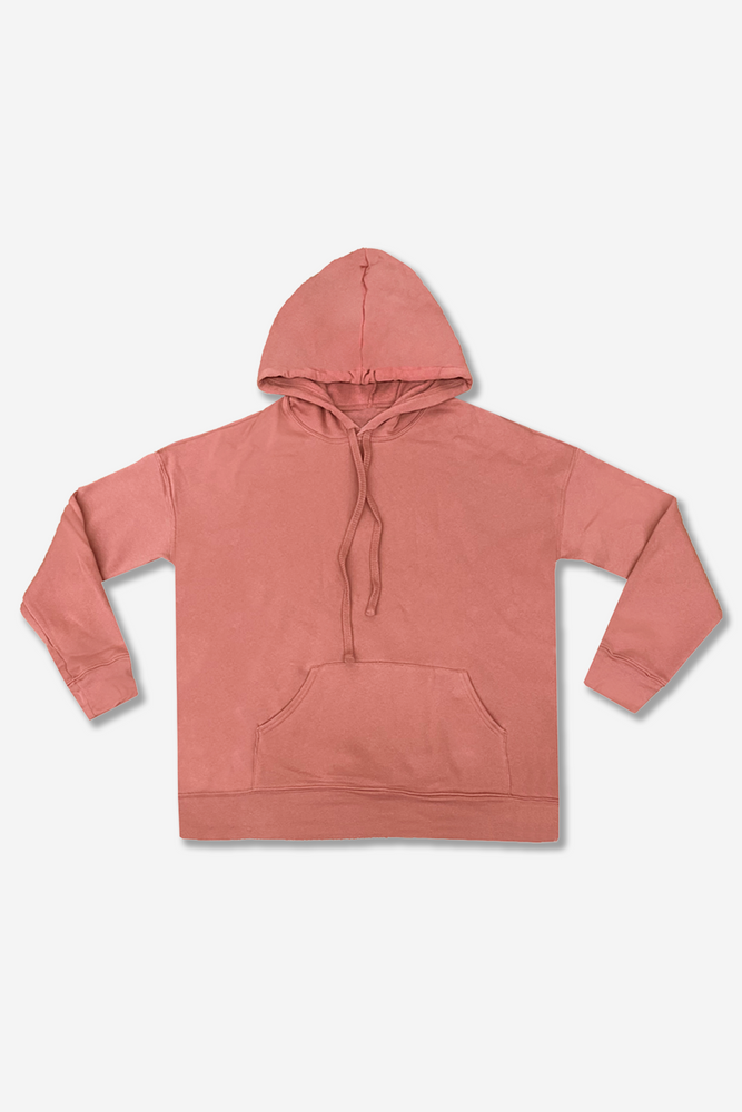 Women's Pullover Hoodie - Mauve