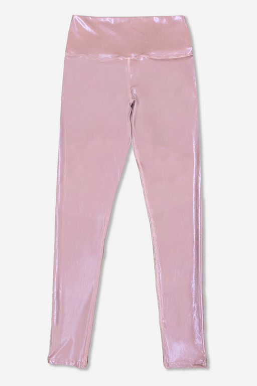 Women's Long Legging - Mauve Pearl