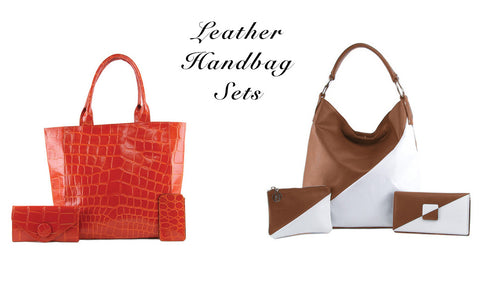Leather Handbag Sets