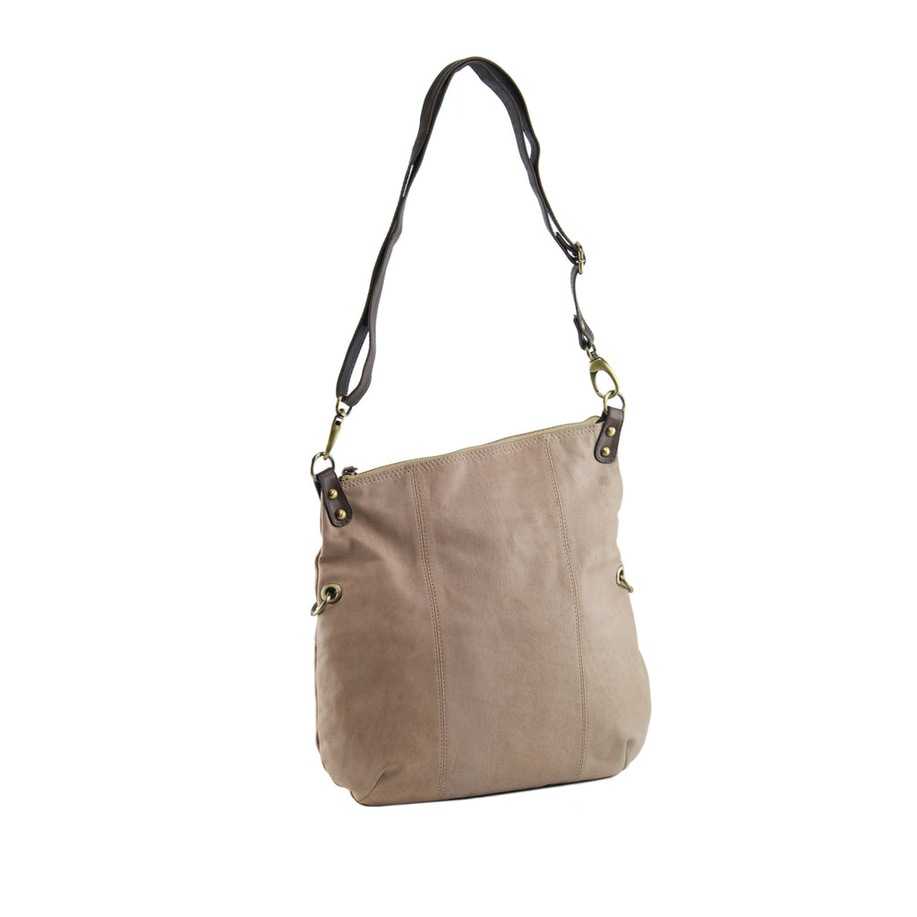dfc341ffe8db Manzoni Accessories - Biscuit Leather Shoulder Bag   Crossbody - N561