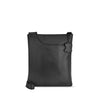 Black Leather Crossbody - A128