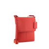 Red Leather Crossbody - A191