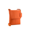 Orange Leather Crossbody - A191