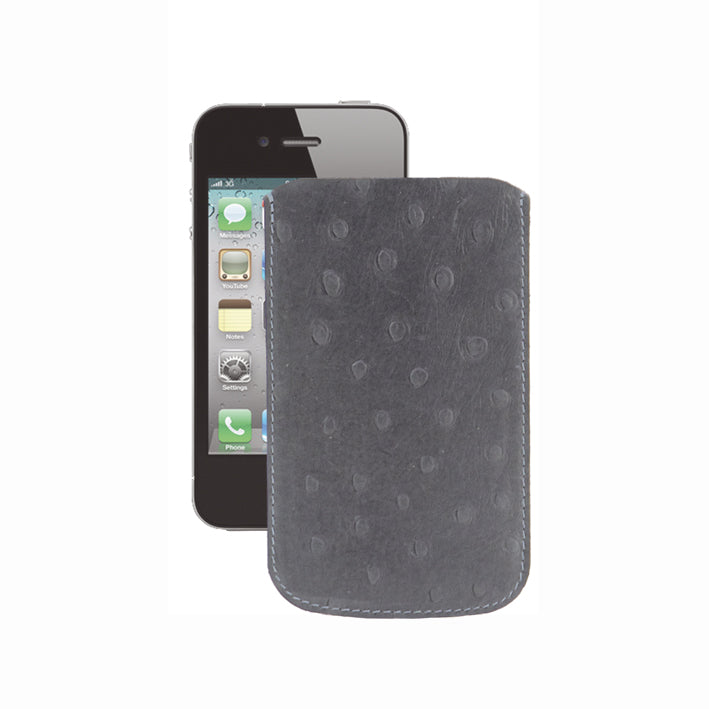 Grey and Black iPhone 4 Cover - IP12