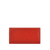 Red Leather Bifold Wallet - W708