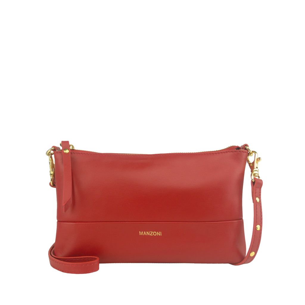 Red Compact Shoulder Bag - MA814