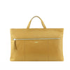Camel Leather Zip Fronted Tote - MA810