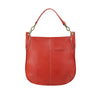 Red Leather Crossbody / Shoulder Bag - A133