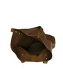 Tan Milled Veg Tan Shoulder Bag - MA163