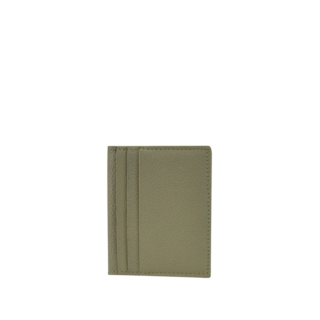 Ivory Leather Card Holder - W763