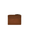 Tan Leather ID and Coin Wallet - W767
