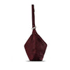 Tibetan Red Washed Woven Leather Shoulder Bag - RAW001